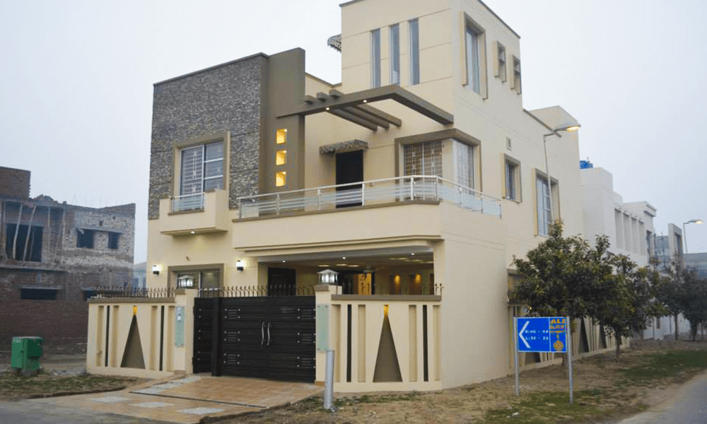 8 Marla Home Front Elevation : House designs in pakistan