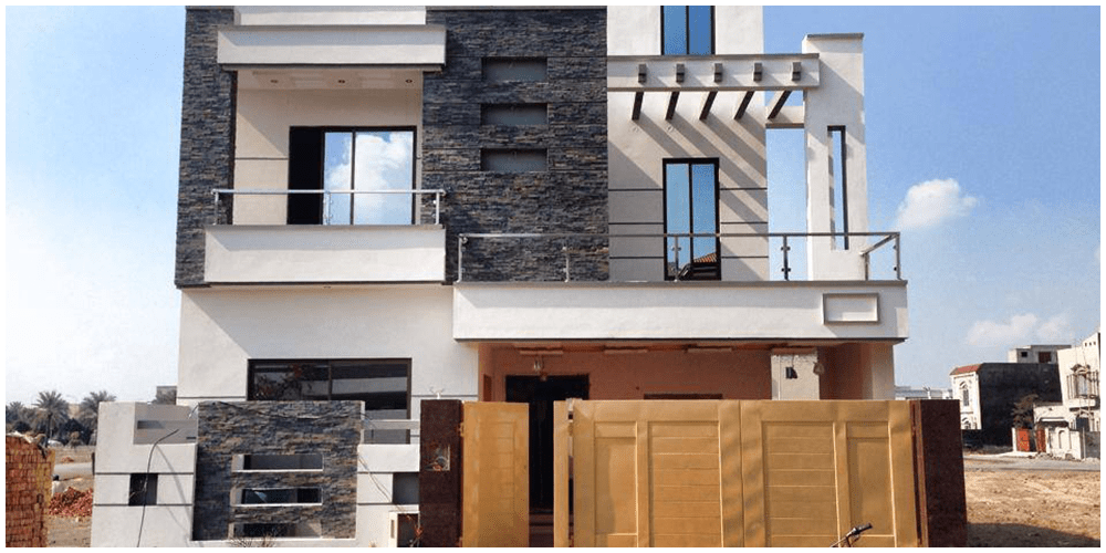 Front Elevation Bahria Town : Construction of houses in lahore builders and contractors