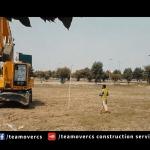 marking for excavation بیسمنٹ کے لئے پی سی سی