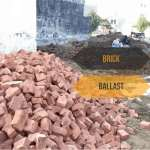 brick ballast grey structure cost