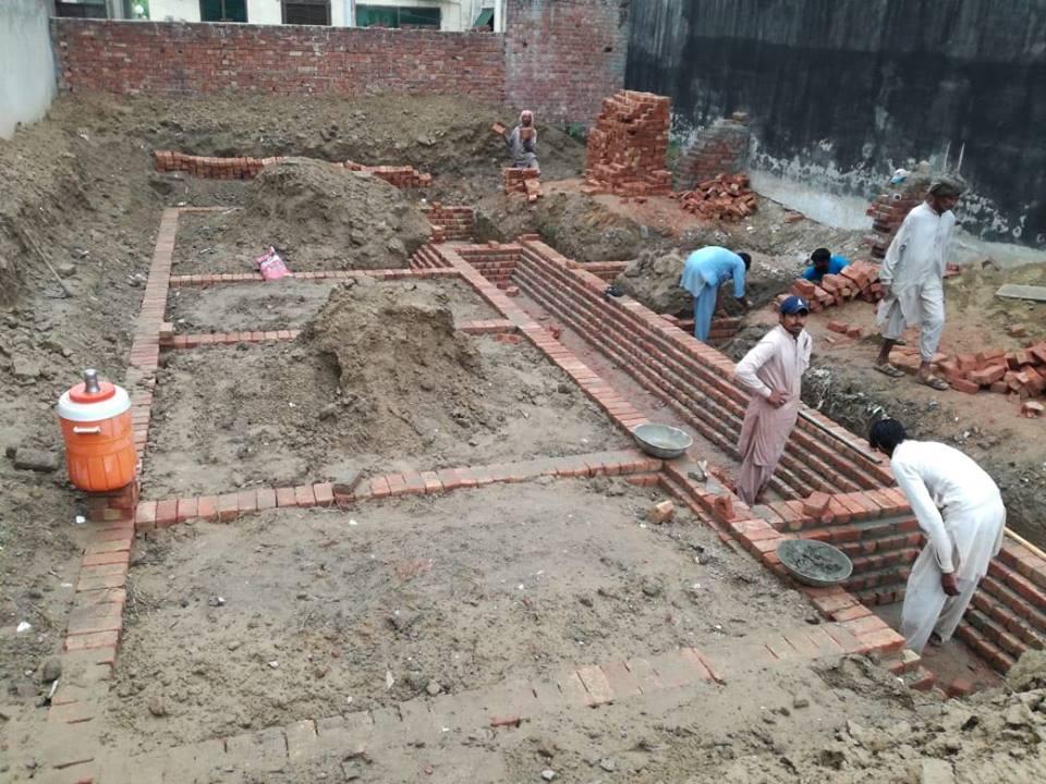 tariq garden 10 marla foundations