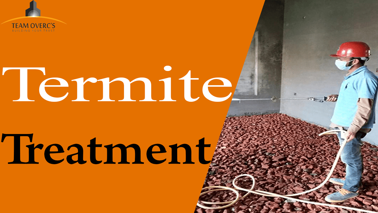 Termite Proofing Stages Chemicals Or Materials Used In Spray