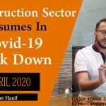 construction sector resumes in covid 19