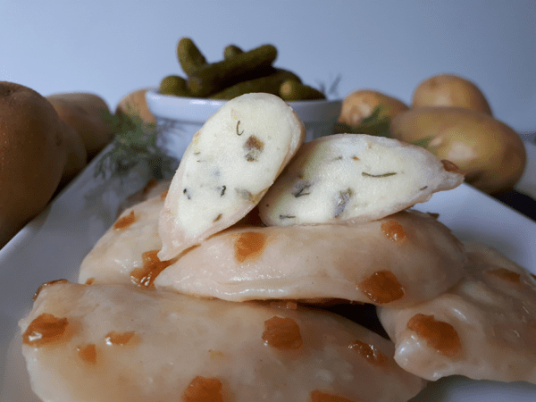 Dill Pickle Perogies