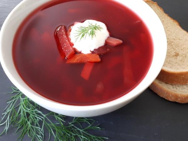 Red Borscht (Beet Soup)