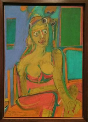 Willem de Kooning, 1904-1997. Woman, 1944.