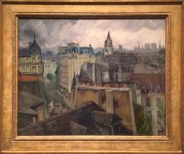 Leon Kroll, 1884-1974. Rooftops of Paris, 1923.