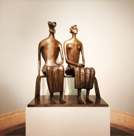 Henry Moore, 1898-1986. King and Queen, 1952-3.
