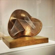 Henry Moore, 1898-1986. Stringed Figure, 1938/60.