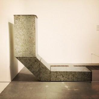 Charlotte Posenenske, 1930-1985. Square Tubes (series D) 1967
