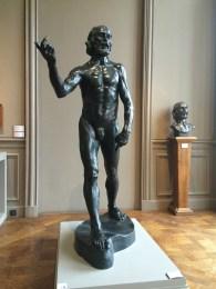 Auguste Rodin, 1840-1917. Saint John the Babtist, 1880.
