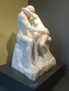 Auguste Rodin, 1840-1917. The Kiss, 1882-1889. Living breathing marble. It felt like an intrusion to gaze upon them.