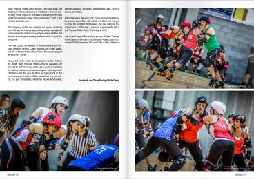 Girls Who Ride Mag Roller Derby Team Portugal April-June 2016 Eng2