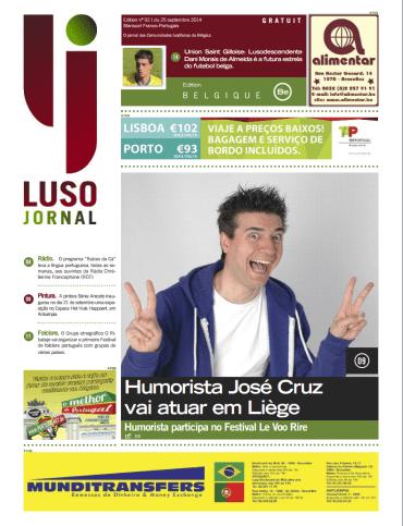 Luso Jornal 92 25-09-2014