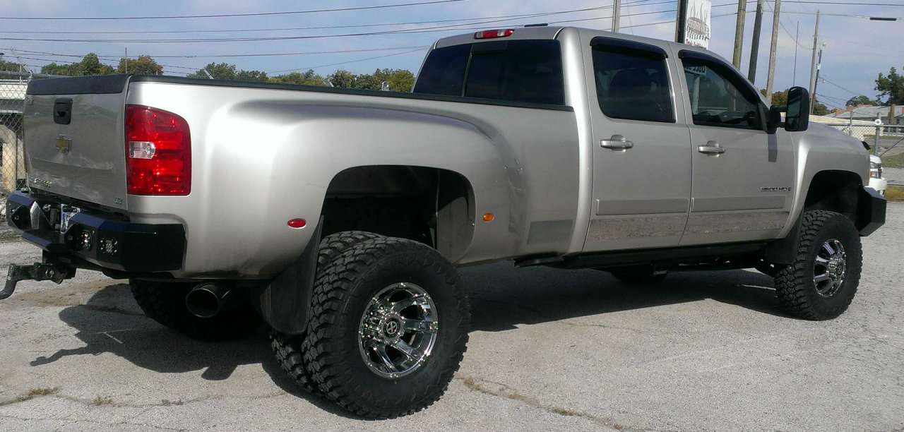 Rugged Liners 2008 Chevy 3500 Hankook dually tires – Performance Truck ...