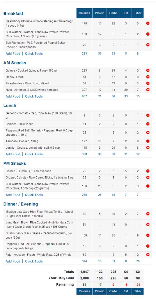 vegan-sample-diet-day-1