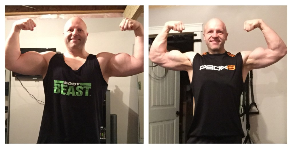colin biceps beachbody before after body beast