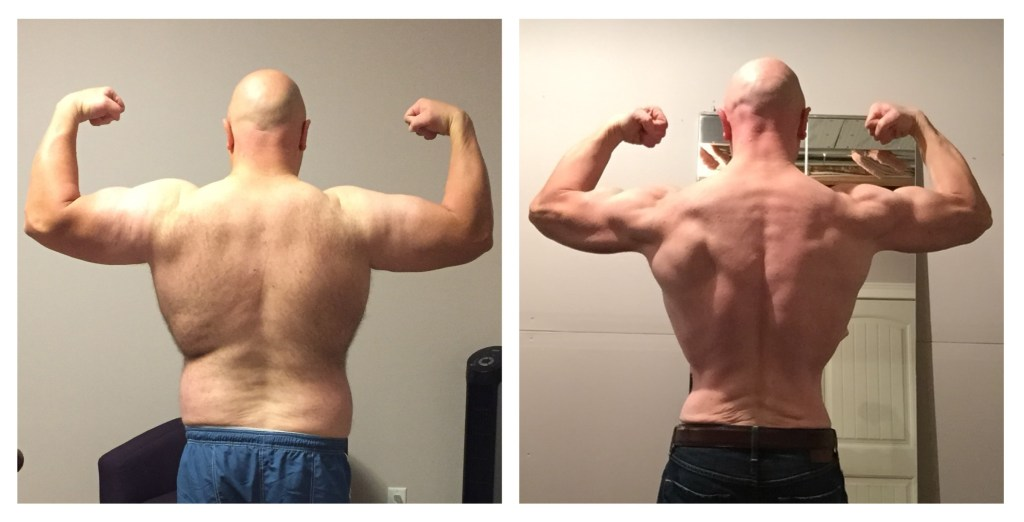 colin back beachbody before after body beast