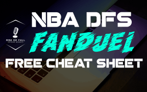 nba dfs cheat sheet