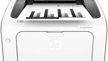 Hp Laserjet Pro M12w Wireless Printer