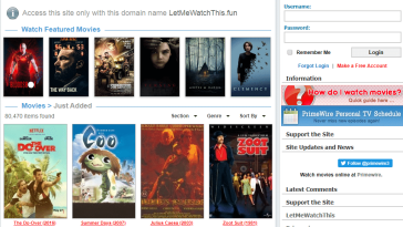 LetMeWatchThis Best Website to watch Movies Online