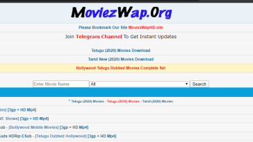 MoviezWap - Watch and Download Latest Tamil Telugu, Hollywood Movies Online Free 2020