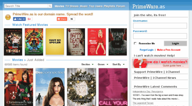 PrimeWire Watch Movies Online Free