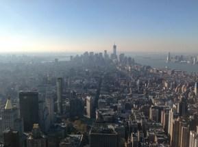 Blick Richtung Süden, Richtung Ground Zero