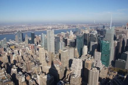 Blick vom Empire State Building - Nord Westen