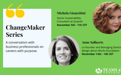 ChangeMaker Series: key takeaways from our speakers in November