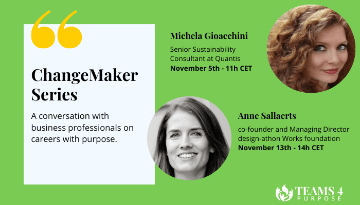 ChangeMaker Series: key takeaways from our speakers in November