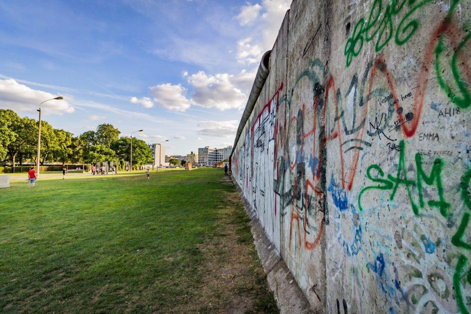 vandalism on wall