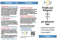 Priests & Religious Leaflet