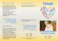 Teams Leaflet