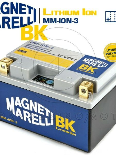 BATTERIA MAGNETI MARELLI LITIO MM-ION-3 YTZ10S-BS MV AGUSTA BRUTALE 750 S 2004