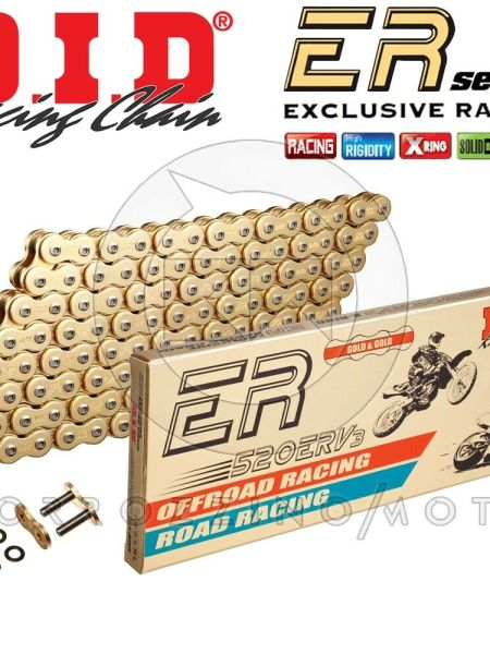 CATENA DID RACING 520ERV3 G&G GOLD M 116 X-RING BMW F 800 F800 GS ANNO 2015