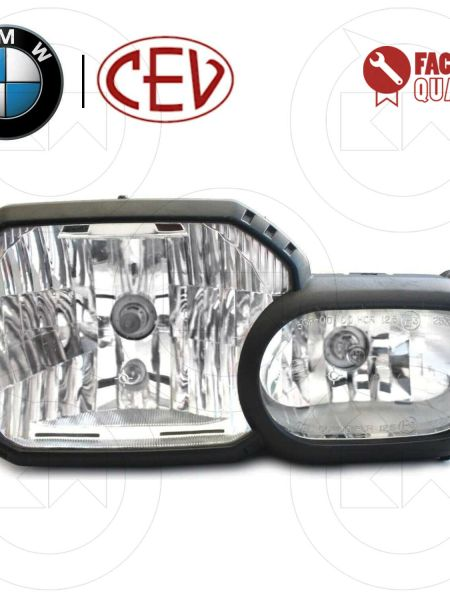 HEADLIGHT FARO FANALE ORIGINALE BMW ANTERIORE PER BMW F 800 GS 2006 2007 2008