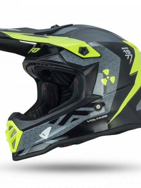 Casco Moto Cross Bimbo Bambino Ufo Voltage Offroad Pit Bike Integrale Mis. S