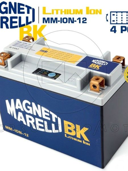 BATTERIA MAGNETI MARELLI LITIO MM-ION-12 YTX20L-BS YAMAHA YFM Grizzly 660 2006