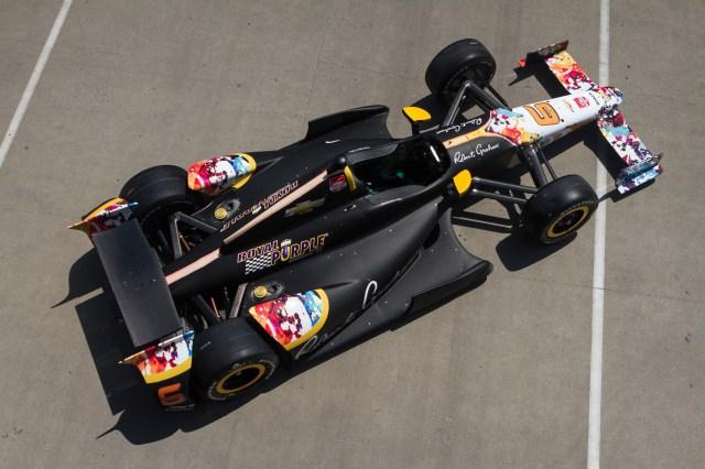 Royal Purple Sponsored Indy 500 Car - Credit Matt Mangino & KV Racing Technology