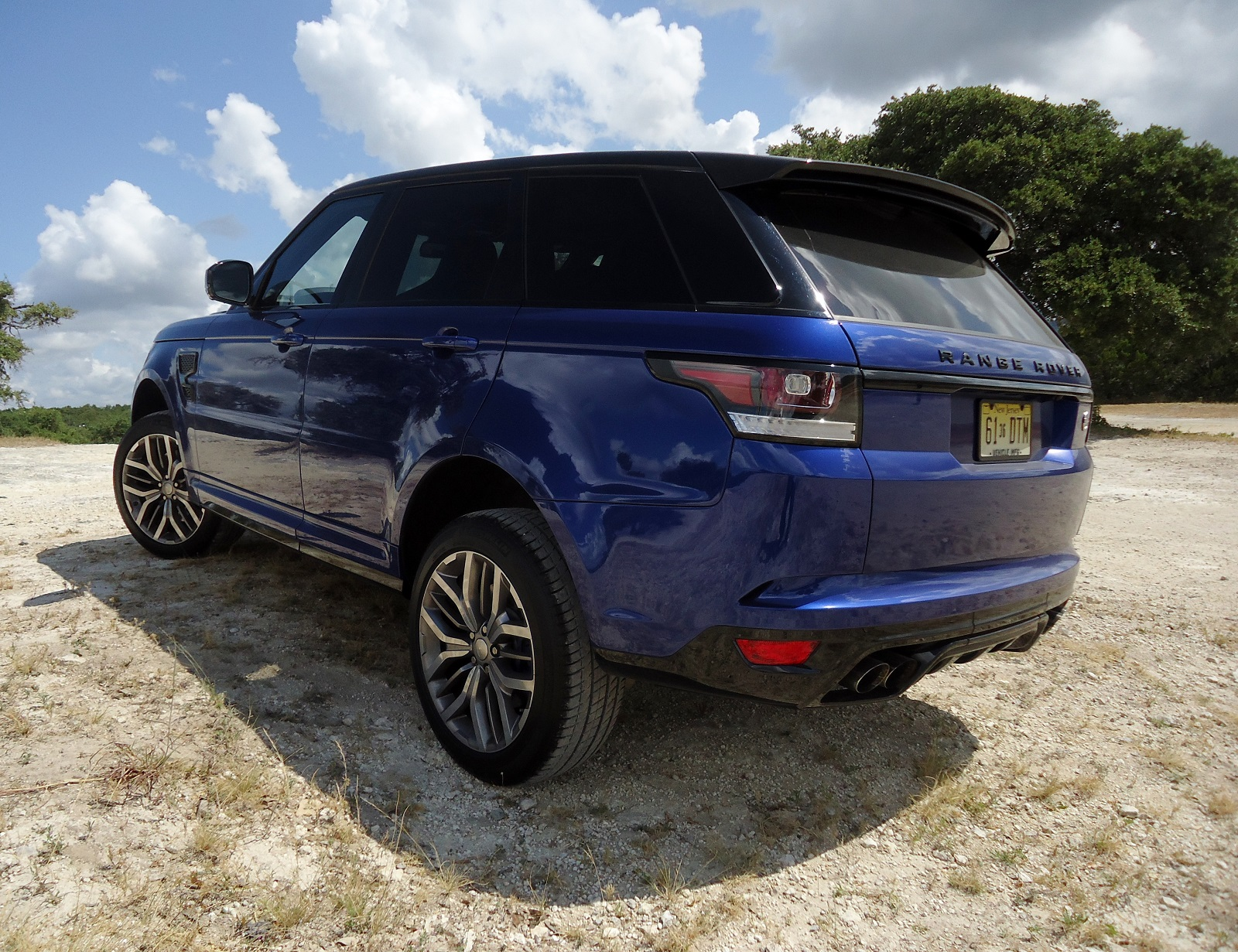 Review 2015 Land Rover Range Rover Sport SVR TeamSpeed