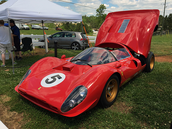 Range Rover Norwood >> Behold Norwood's Stunning First Ferrari 330 P4 Replica ...