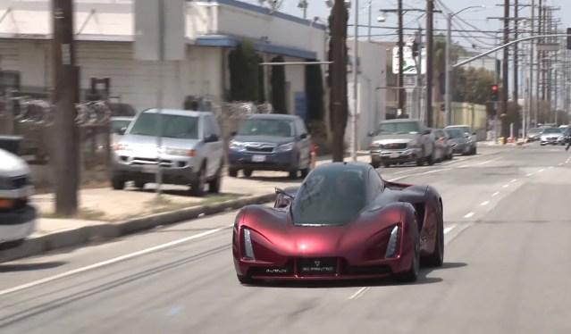 3D-printed supercar with a 700-horsepower Mitsubishi Lancer Evo engine
