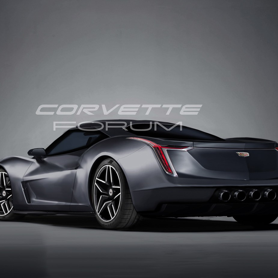 Cadillac mid-engined sports car concept.