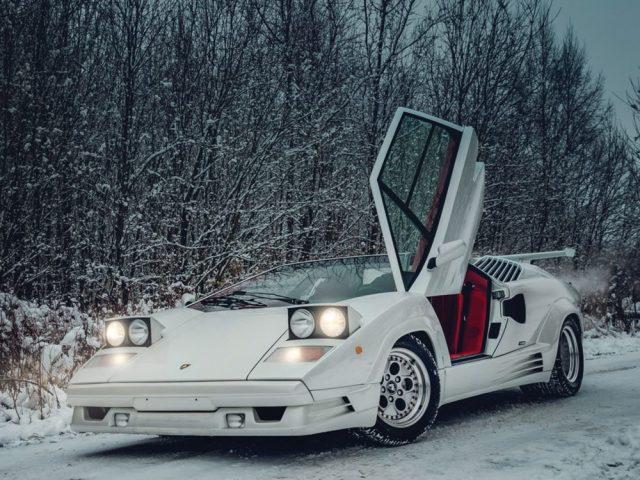 TeamSpeed.com - Lamborghini Countach 25th Anniversary Edition