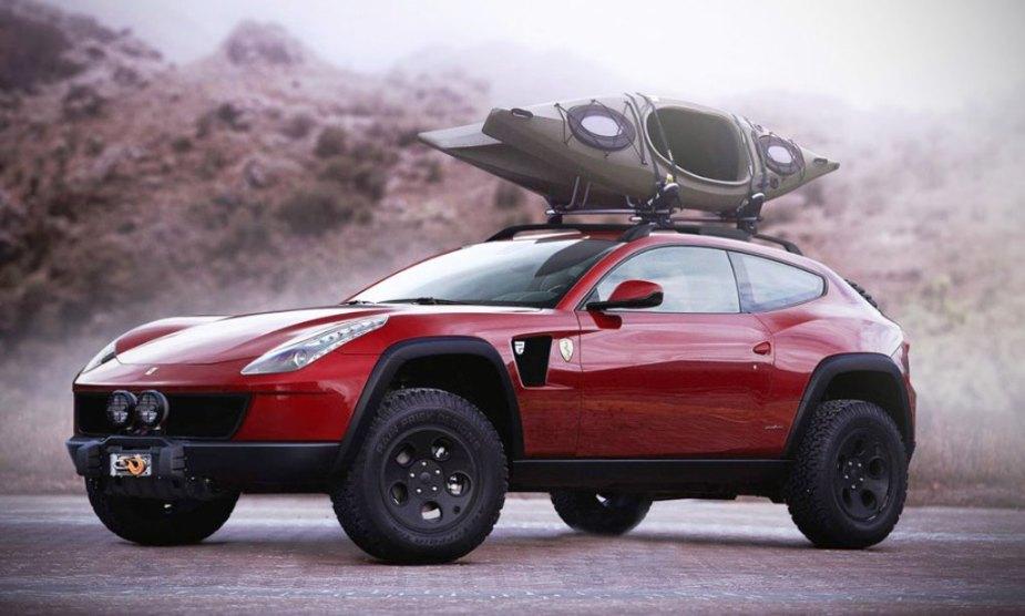 Ferrari SUV rendering found online