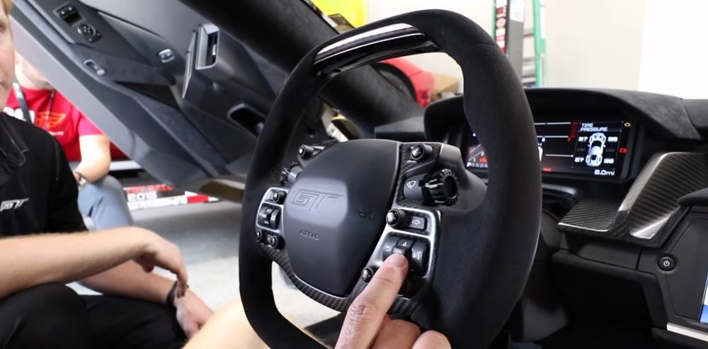 Ford Gt Steering Wheel Explained