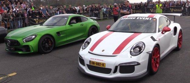 Porsche 911 GT3 RS Racing AMG GT
