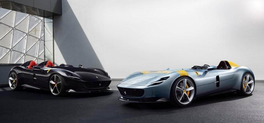 Team Speed: Ferrari Monza SP1 and SP2