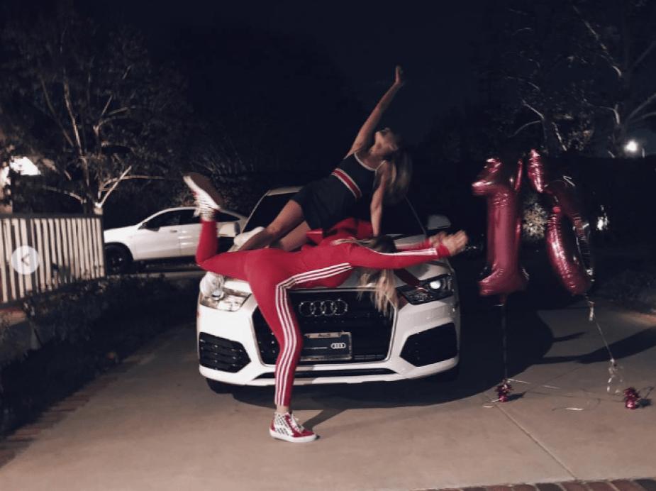 Sia Maddie Zeigler Audi Q3
